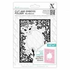 Xcut - Cut & Embossing Folder - Elegant Lady