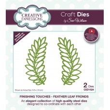 Finishing Touches Collection - Feather Leaf Fronds