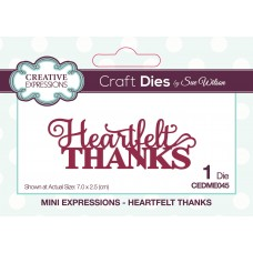 Mini Expressions Collection - Heartfelt Thanks