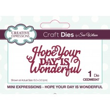Mini Expressions Collection - Hope Your Day is Wonderful