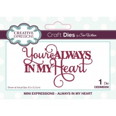 Mini Expressions Collection - Always in my Heart