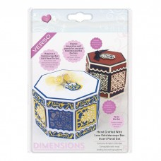 Tonic Studios - Hand Crafted With Love Kaleidoscope Insert Panel Die Set