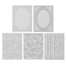 3D - Embossing Folder Bundle - DISPATCHING THURSDAY 31st OCTOBER