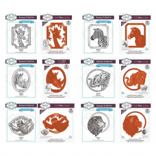 Sue Wilson - Safari Collection - Animal Die & Stamp Bundle