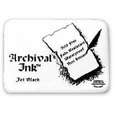 Archival Jet Black Stamp Pad