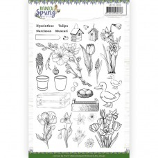 Amy Design - Botanical Spring Clear Stamp