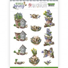 Amy Design - Botanical Spring 3D Pushout - Spring Arrangement