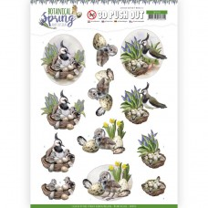 Amy Design - Botanical Spring 3D Pushout - Lapwing