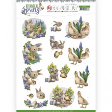 Amy Design - Botanical Spring 3D Pushout - Best Friends