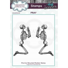Andy Skinner Rubber Stamp - Pray