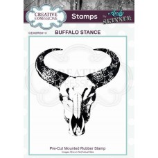 Andy Skinner Rubber Stamp - Buffalo Stance