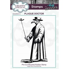 Andy Skinner Rubber Stamp - Plague Doctor