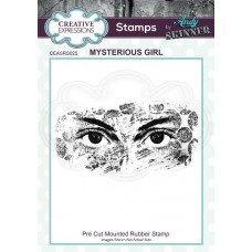 Andy Skinner - Rubber Stamp - Mysterious Girl