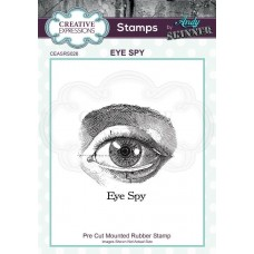 Andy Skinner - Rubber Stamp - Eye Spy
