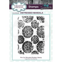 Andy Skinner -  Rubber Stamp - Distressed Mandala