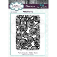 Andy Skinner - Rubber Stamp - Ammonite