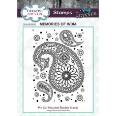 Andy Skinner - Rubber Stamp - Memories of India