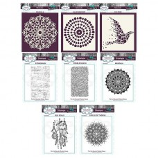 Andy Skinner Stamp & Stencil Bundle - PRE ORDER - 5 - 7 DAYS