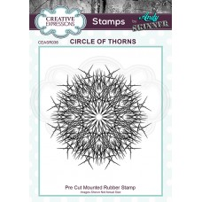 Andy Skinner - Rubber Stamp - Circle of Thorns