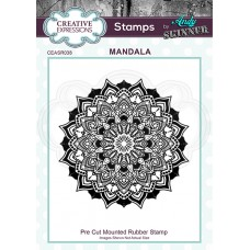Andy Skinner - Rubber Stamp - Mandala