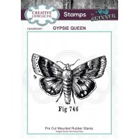Creative Expressions - Rubber Stamp by Andy Skinner - Gypsie Queen