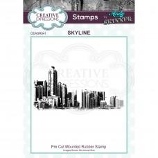 Andy Skinner - Skyline Rubber Stamp