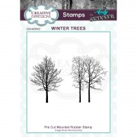 Andy Skinner - Winter Trees Rubber Stamp Set