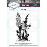 Andy Skinner - Angel Rubber Stamp