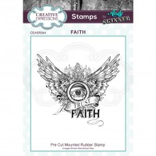 Andy Skinner - Faith Rubber Stamp