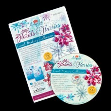 Angela Poole Florals & Flurries Card Maker's Collection DVD-ROM