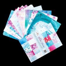 Angela Poole Florals & Flurries A4 Paper Pad