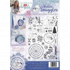 Angela Poole A4 Stamp Set - Winter Snuggles