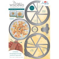 Angela Poole - Magic Windows Slide & Reveal Die Set – Circle