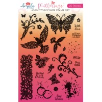Flutterings A5 Photopolymer Stamp Set - SOLD OUT