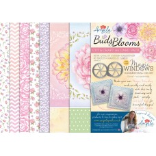 Angela Poole - Buds to Blooms Cut & Craft A4 Card Pack
