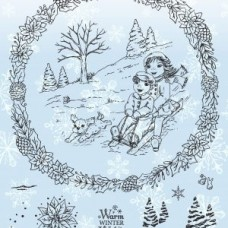 Angela Poole - Beautiful Moments - Christmas Cheer Stamp