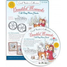 Card Maker's Collection CD-ROM: Beautiful Moments – Cold Days, Warm Hearts