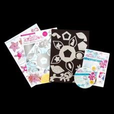 Angela Poole - Pretty Poinsettia Die Set + Florals & Flurries DVD