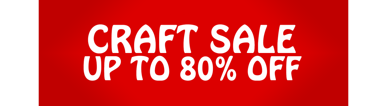 January Craft Sale