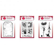 Woodware Mini Stamp Bundle