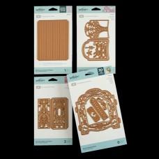 Spellbinders 3D Vignette Mini Album Books Bundle - DISPATCHING WEDNESDAY 15th JANUARY