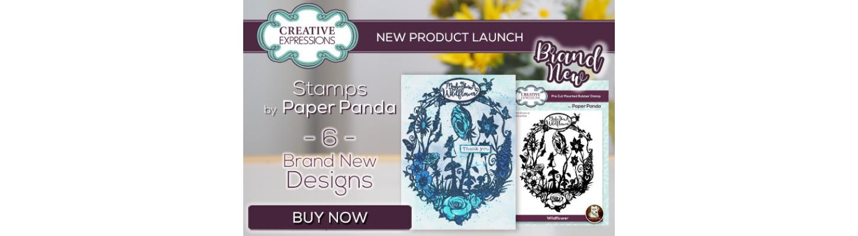 Paper Panda Stamps
