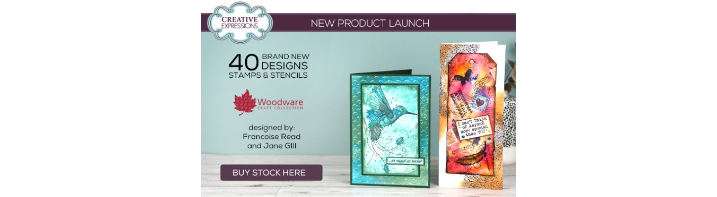 New Woodware Stamps