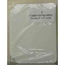 5 x 5 Box Envelopes