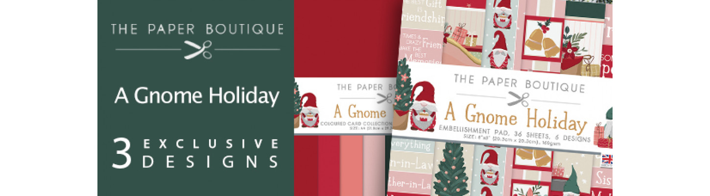 Paper Boutique Gnome Holiday
