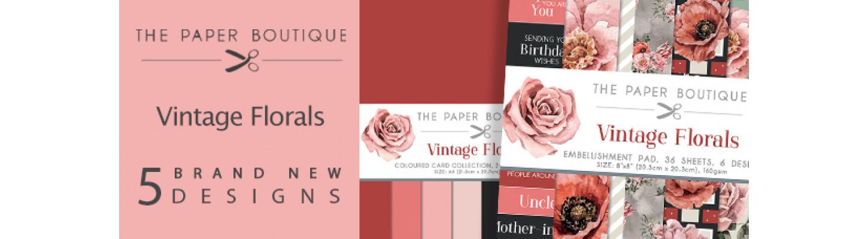 Paper Boutique Vintage Florals