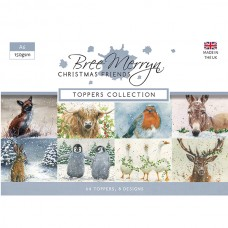 Bree Merryn - Christmas Friends - A6 Toppers