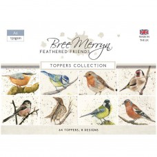 Bree Merryn - Feathered Friends – A6 Toppers