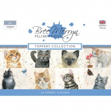 Bree Merryn - Feline Friends – A6 Toppers