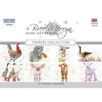 Bree Merryn - Rainy Day Friends – A6 Toppers